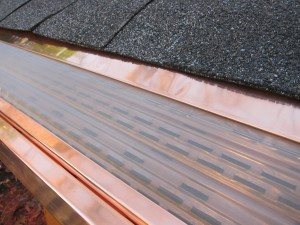 Copper Gutter Guards