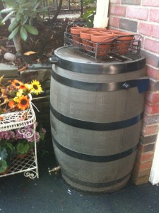Rain Barrel Gutter Guard