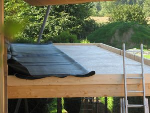 Gutter Guards for Rubber Roofs