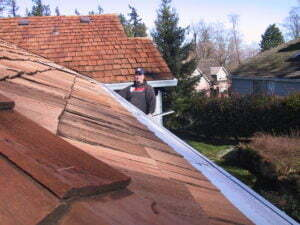 Gutter Guards for Cedar Shake Roofs