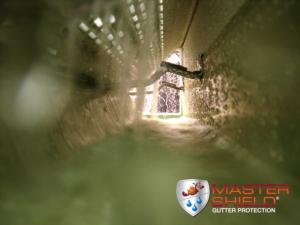 Interior of MasterShield Gutter Guards